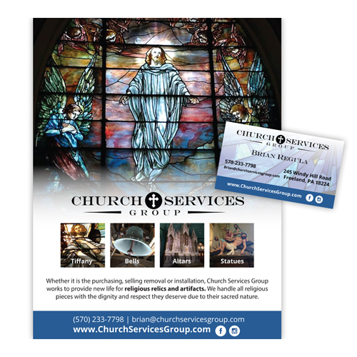 Church Services Group Stationery