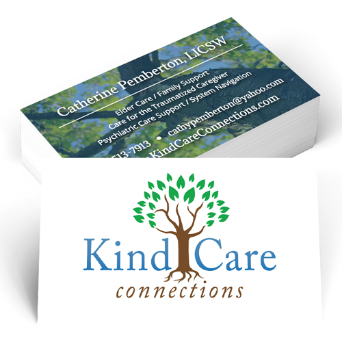 Kind Care Connections Business Cards