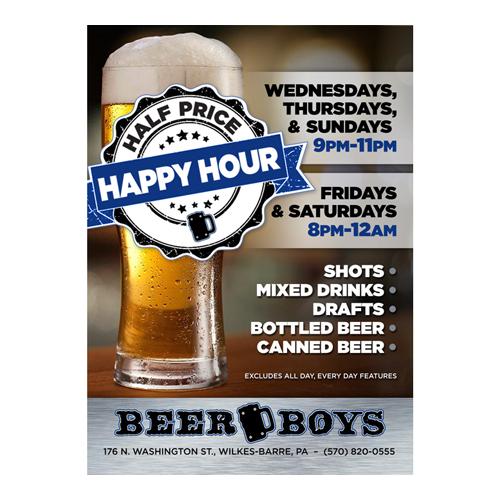 Beer Boys Specials