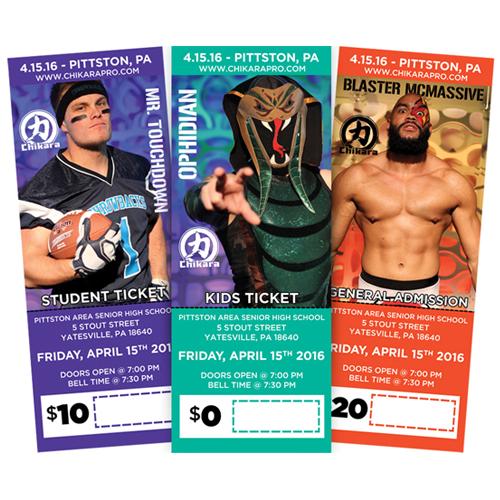 Chikara Tickets