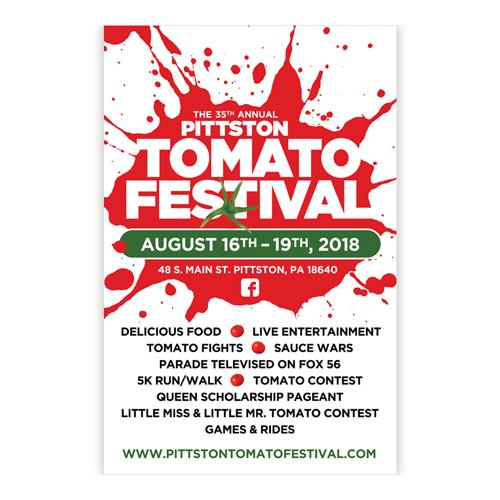 Pittston Tomato Festival Poster