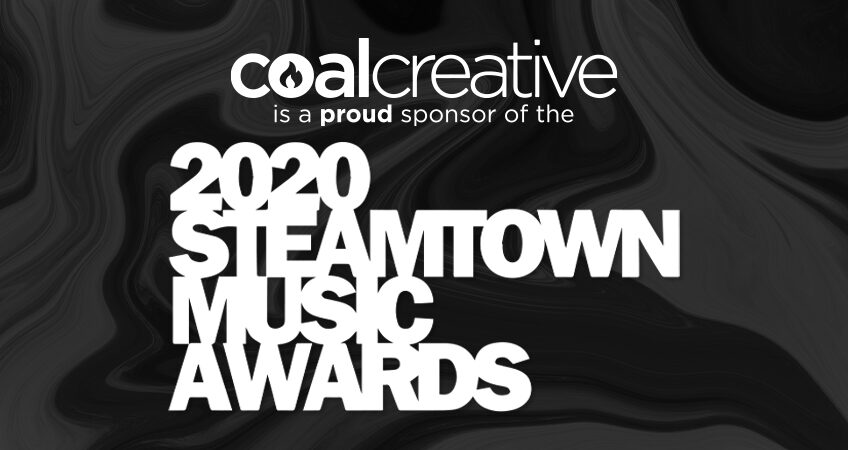 Coal Creative is a proud sponsor of the 2020 Steamtown Music Awards
