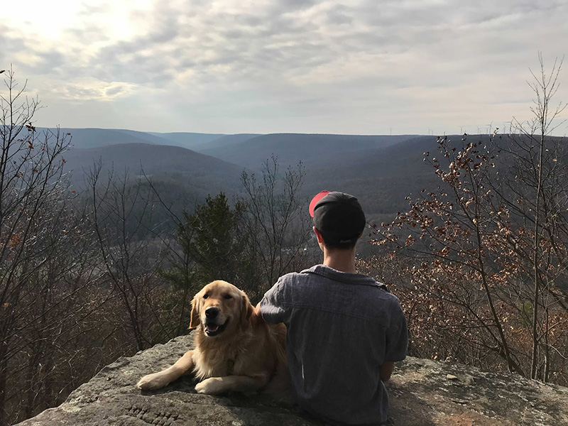 Sam - Keeping up with the Coal Creative Crew - Hiking with family