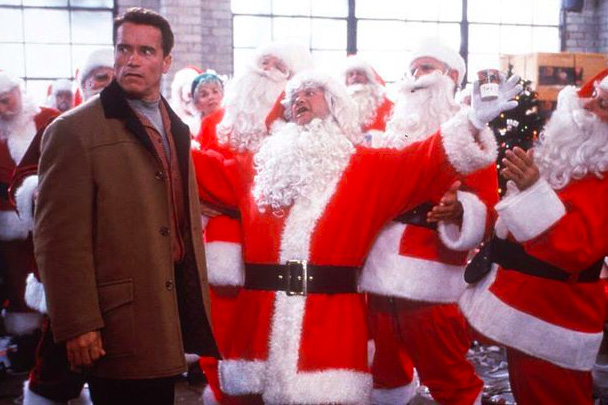 Alex's favorite holiday movie, Jingle All the Way