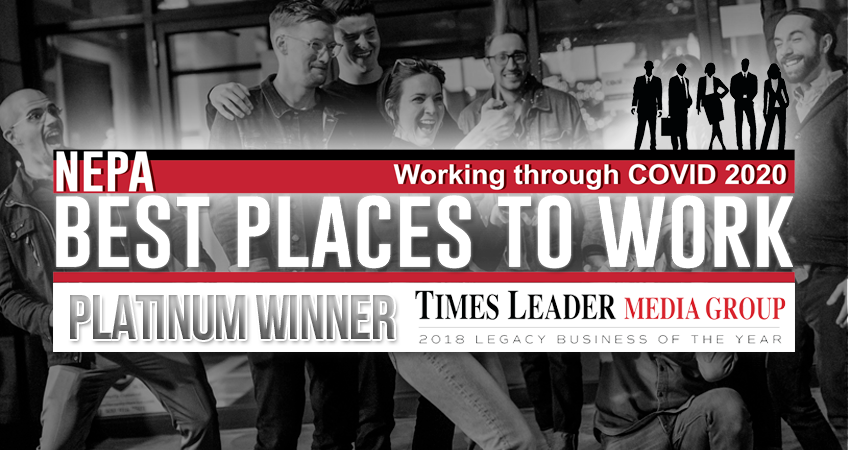 Coal Creative - Times Leader Best Places to Work Platinum Winner