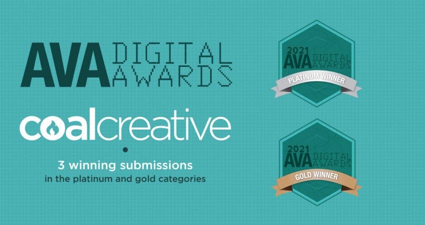 Coal Creative Wins Big at the 2021 AVA Digital Awards
