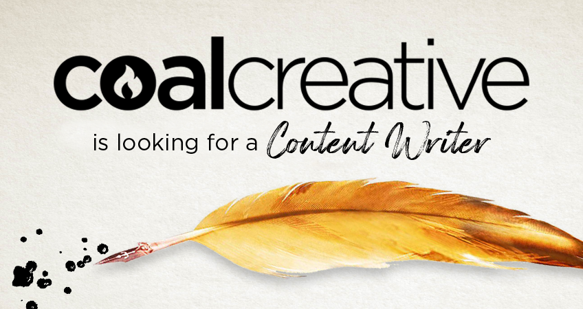Coal Creative is Looking for a Content Writer!
