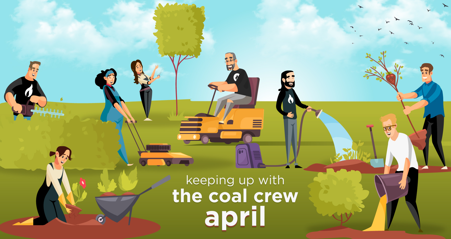Keeping Up With the Coal Crew - April