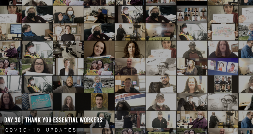 Coal Creative - Thank You Essential Workers