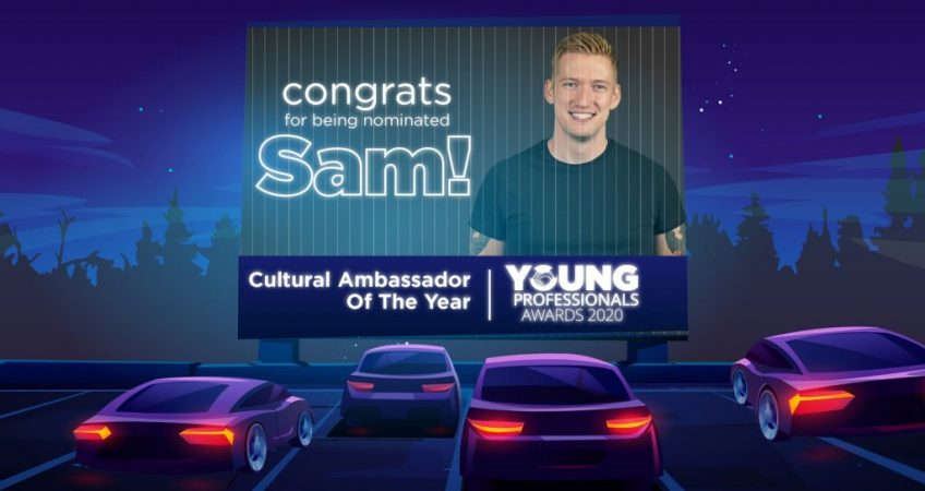 Sam O'Connell nominated in Young Professionals Awards 2020