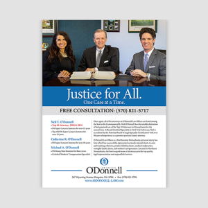 O'Donnell Law Ads
