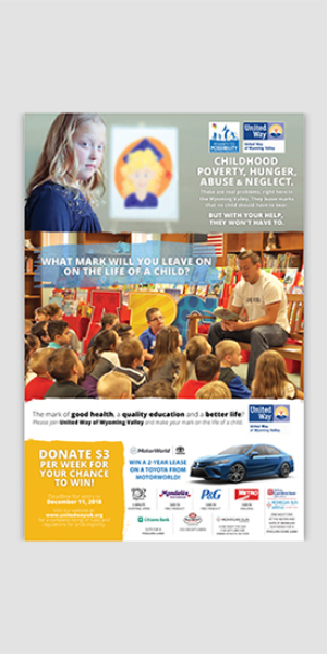 United Way of Wyoming Valley Annual Campaign Materials